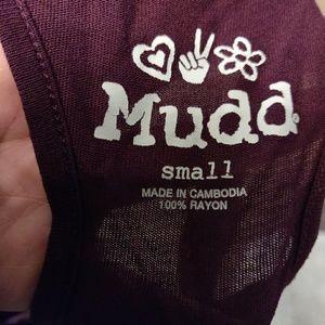 Mudd Tops - Mudd printed tank top